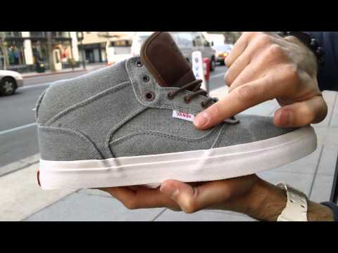 b500c32601 Vans OTW Ludlow Native American Shoes UNBOXING