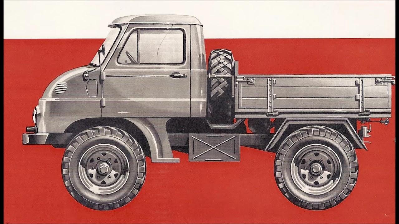 Mercedes-Benz UNIMOG U 411 1974 - YouTube
