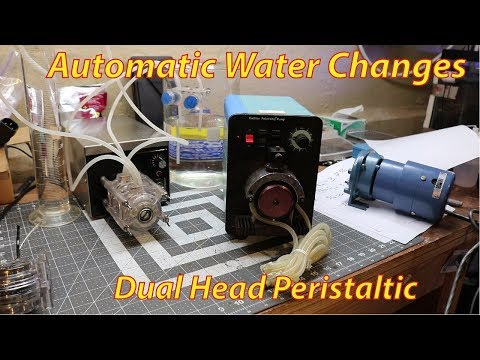 Auto Water Change Stenner Peristaltic Pump For Reef Tank