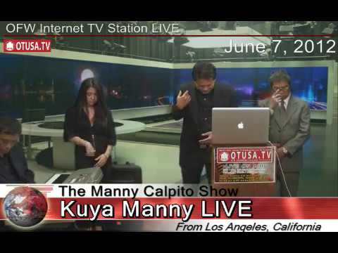 OTUSA TV AWARDS THE FATHER OF PHILIPPINE VISUAL POETRY June 7  THE MANNY CALPITO SHOW