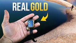 REAL Gold Apple Watch Lost in Lake!