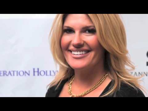 Kristen Best of DylanKeith and Laurie Foundation At Suzanne DeLaurentiis Gifting Suite