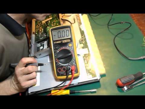 Неудавшийся ремонт ЖК монитора Samsung SyncMaster SA10. Дефект изображения. Часть 1.0
