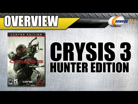 Crysis 3 HUNTER EDITION Early Unboxing! [HD]