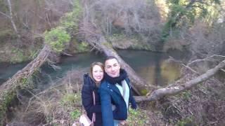 Angelo & Sue in Calcata Italy.