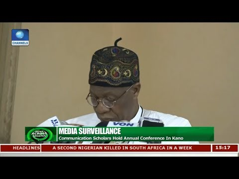 FG Pledges Support For Media Organisations | News Across Nigeria |