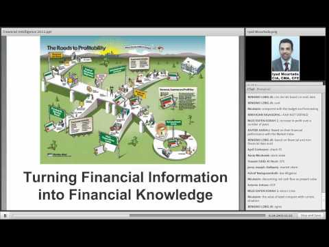 Financial Intelligence - IMA Dubai Chapter Webinar