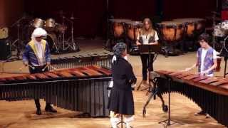 Thunderstruck for Percussion Ensemble Alumnado PercuFest 2014 dirigido por Rafa Navarro