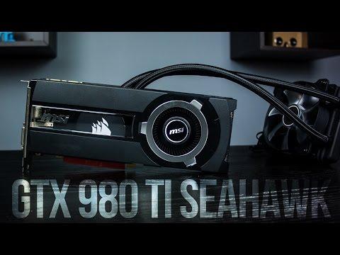 A VIZES SZÖRNYETEG!! | MSI GTX980 Ti Seahawk teszt
