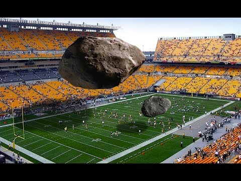 Football Field sized Asteroid 2017BVT14 coming in behind Earth   Close approach 10 days out