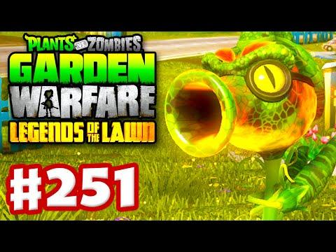 Plants vs. Zombies: Garden Warfare - Gameplay Walkthrough Part 251 - Fire Peazilla!