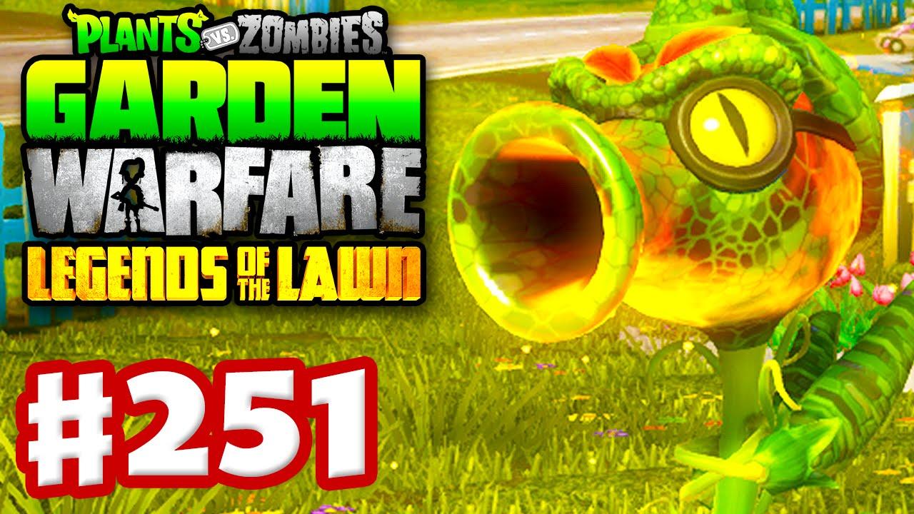 Plants Vs Zombies Garden Warfare Gameplay Walkthrough Part 251 Fire Peazilla Youtube