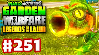 Plants vs. Zombies: Garden Warfare - Gameplay Walkthrough Part 251 - Fire Peazilla!