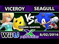 S@X 161 - Viceroy (Rosalina) Vs. VexX | Seagull Joe (Sonic) SSB4 Tournament - WQ - Smash 4