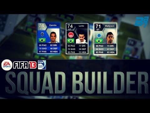INSANE BRAZIL SILVER SQUAD! w/IF MAIKON LEITE/TOTS CAMILO | FIFA 13 Ultimate Team Squad Builder