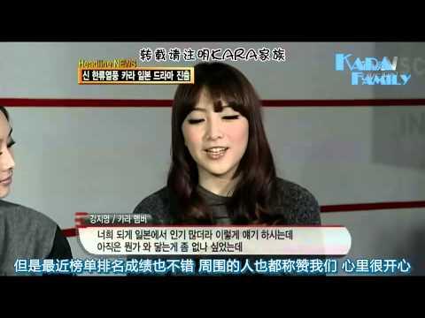 Download 【中字】101214 KARA - tvN E! News 另一面KARA+日本消息(Cut)
