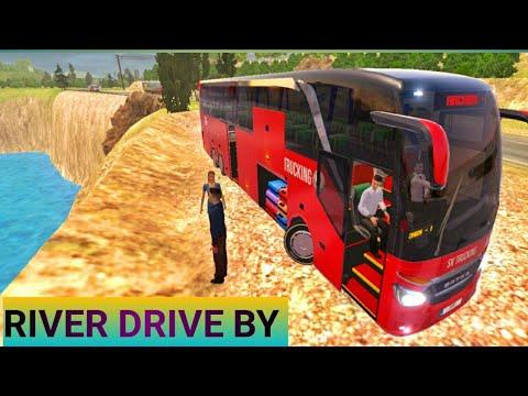 River Driveby 🌊🌊💥💥: Bus Simulator Ultimate 2021 Gameplay : FRANKFURT== BREMEN :Bus Driving Game