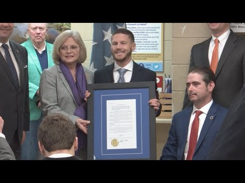 Kyle Carpenter, Medal of Honor Recipient, has SCDMV branch ...