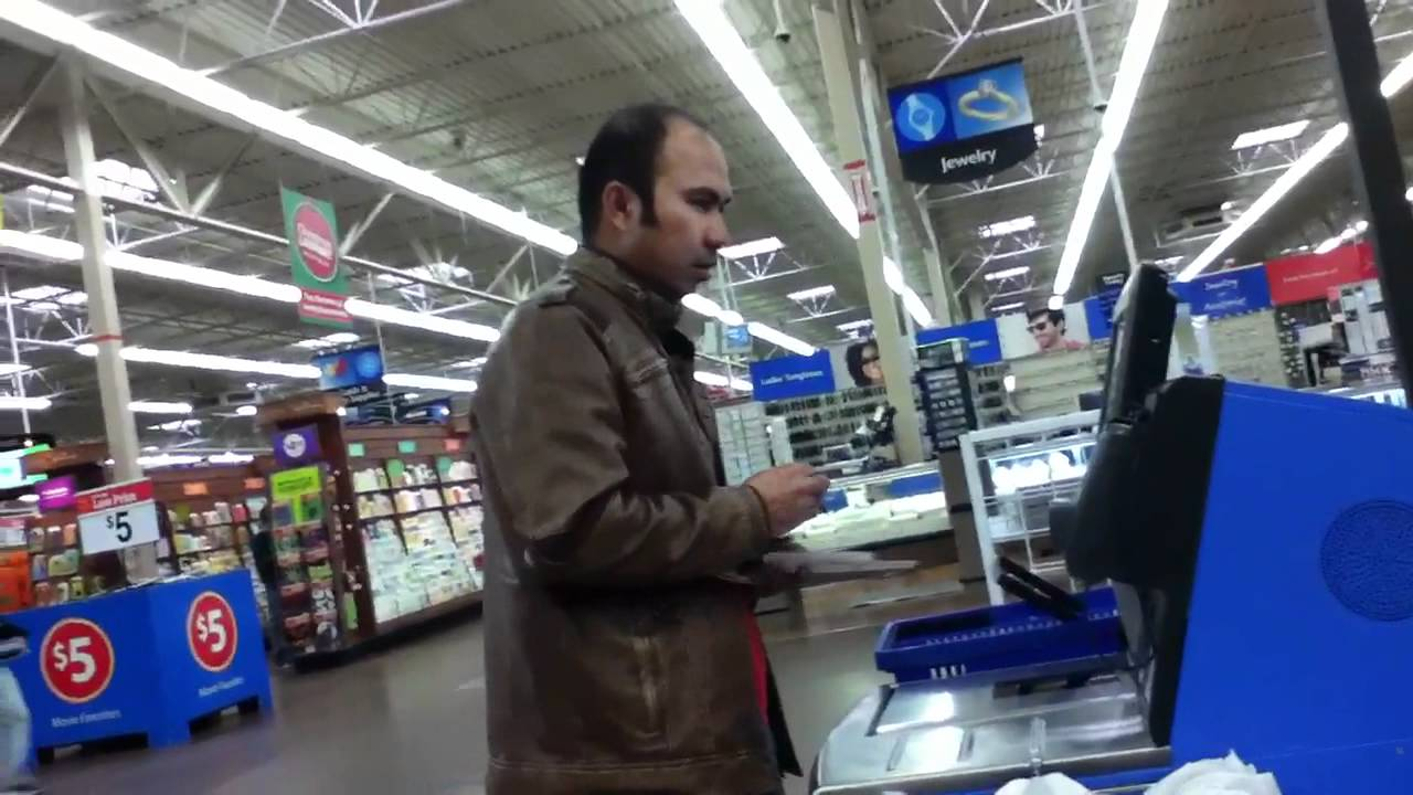 Megio Self Check Out at Walmart - YouTube