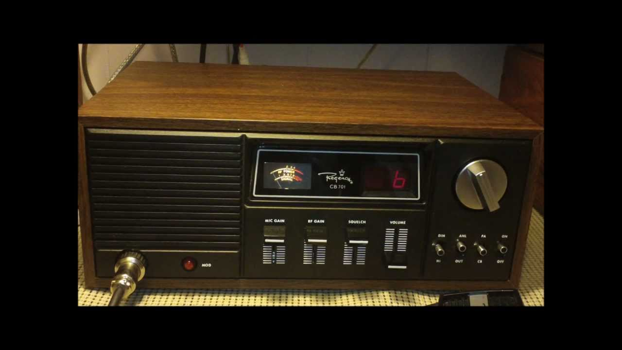Regency CB 701 CB Radio Base Station Made in U S A