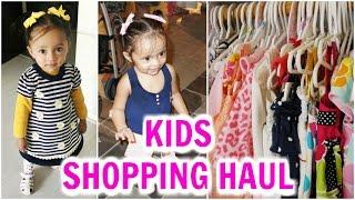 Kids Online Shopping Haul   *HUGE* Hopscotch Sale   ShrutiArjunAnand