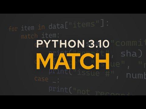 Python 3.10 Pattern