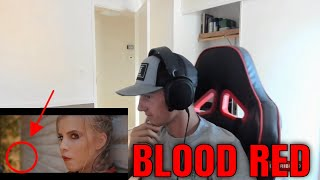 Katie Noel - Blood Red (Official Music Video) Reaction