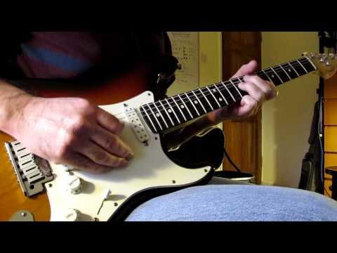 Seymour Duncan Little '59 Neck Pickup - USA Fender Strat - Demo Cleaner Tone