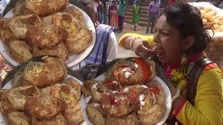 Amazing Puchka (Panipuri) Eating Competition (Part 3) The Most Craziest u0026 Champion Puchka Eater