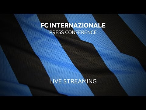 Live! FC Internazionale Press Conference - 28.06.2016 12:30CEST