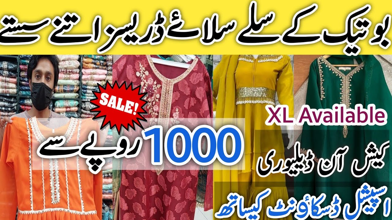 SALE Readymade Boutique Fancy Dresses   Start Rs 1000    Trending Designs   Huge Collection