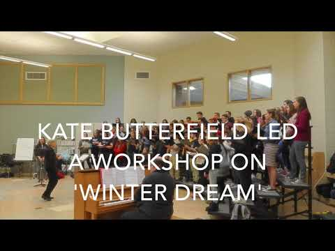 Keene State Concert Choir Workshop with Keene Middle School