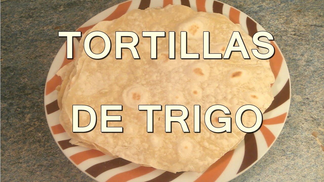 Tortillas de harina de trigo recetas comida mexicana for Comidas rapidas de preparar