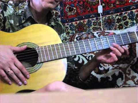 Урок на гитаре- 3 .С подругой для души:) Виктория Юдина