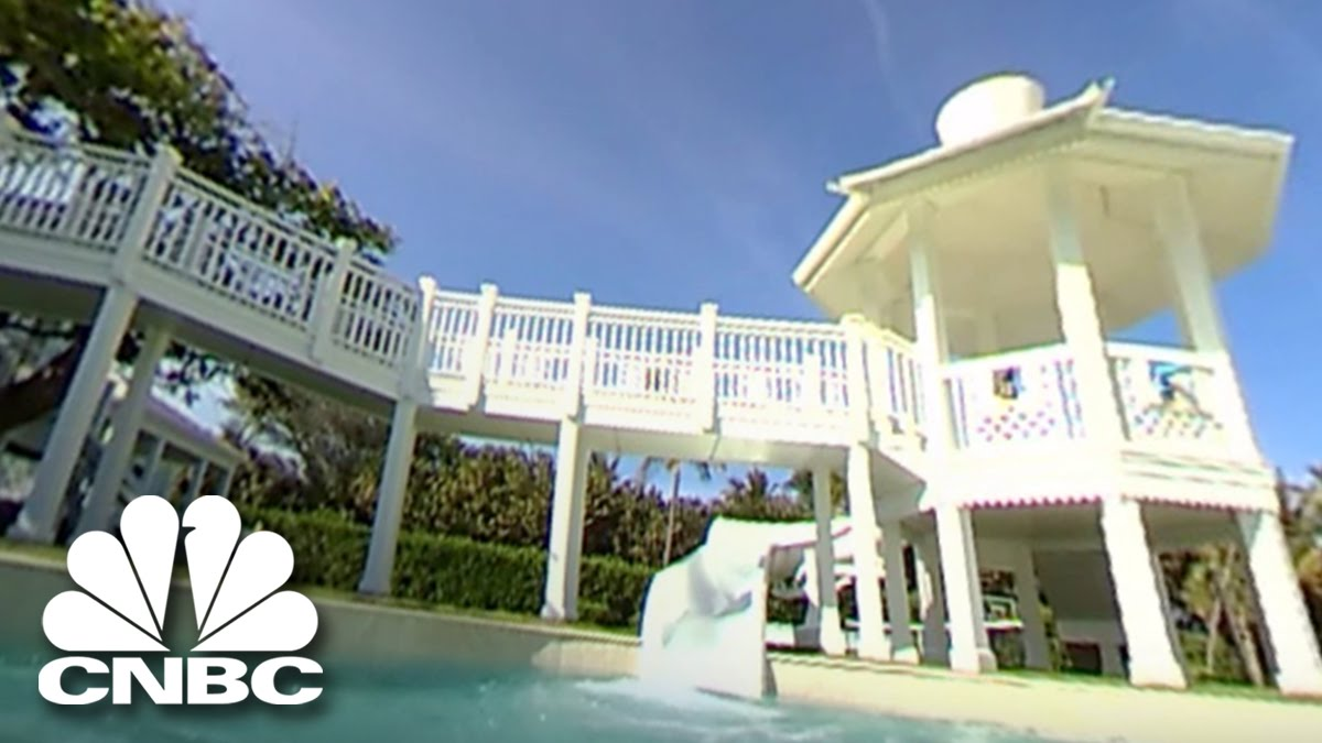 The 360 Tour Of Celine Dions 45500000 Beach House Youtube