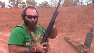 How to load and unload a pumpaction shotgun