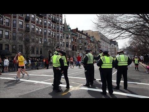Boston Marathon Bombing: Suspect Eluding Boston Police