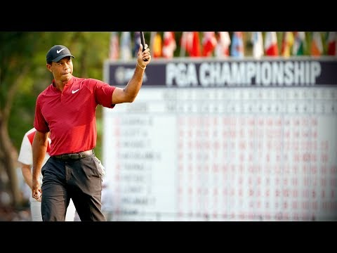 Ultimate Tiger Woods 2018 PGA Championship highlights from all four rounds
