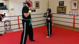 Lola and John @Humber Martial arts