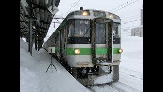 クモハ721-14 苗穂→森林公園 JR北海道 函館本線 721系 F-14編成 249M