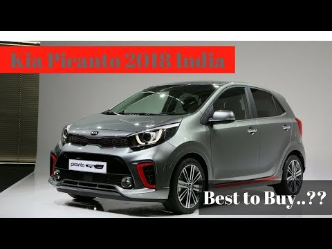 kia picanto 2018 india with detailed specification youtube. Black Bedroom Furniture Sets. Home Design Ideas