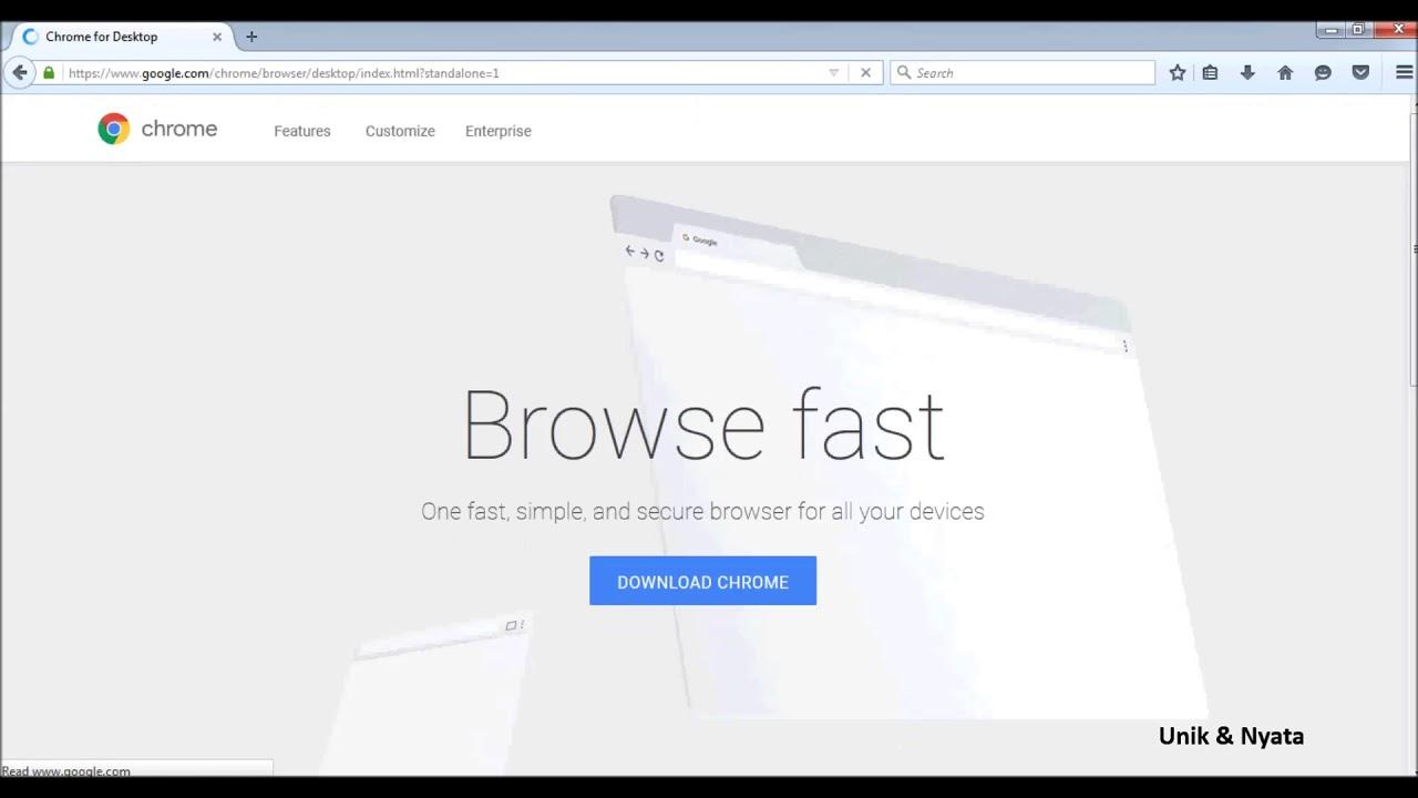 How To Download Google Chrome Offline Installer Youtube
