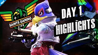 Saints Gaming Live 2018 Day 1 Highlights!! - SMASH 4