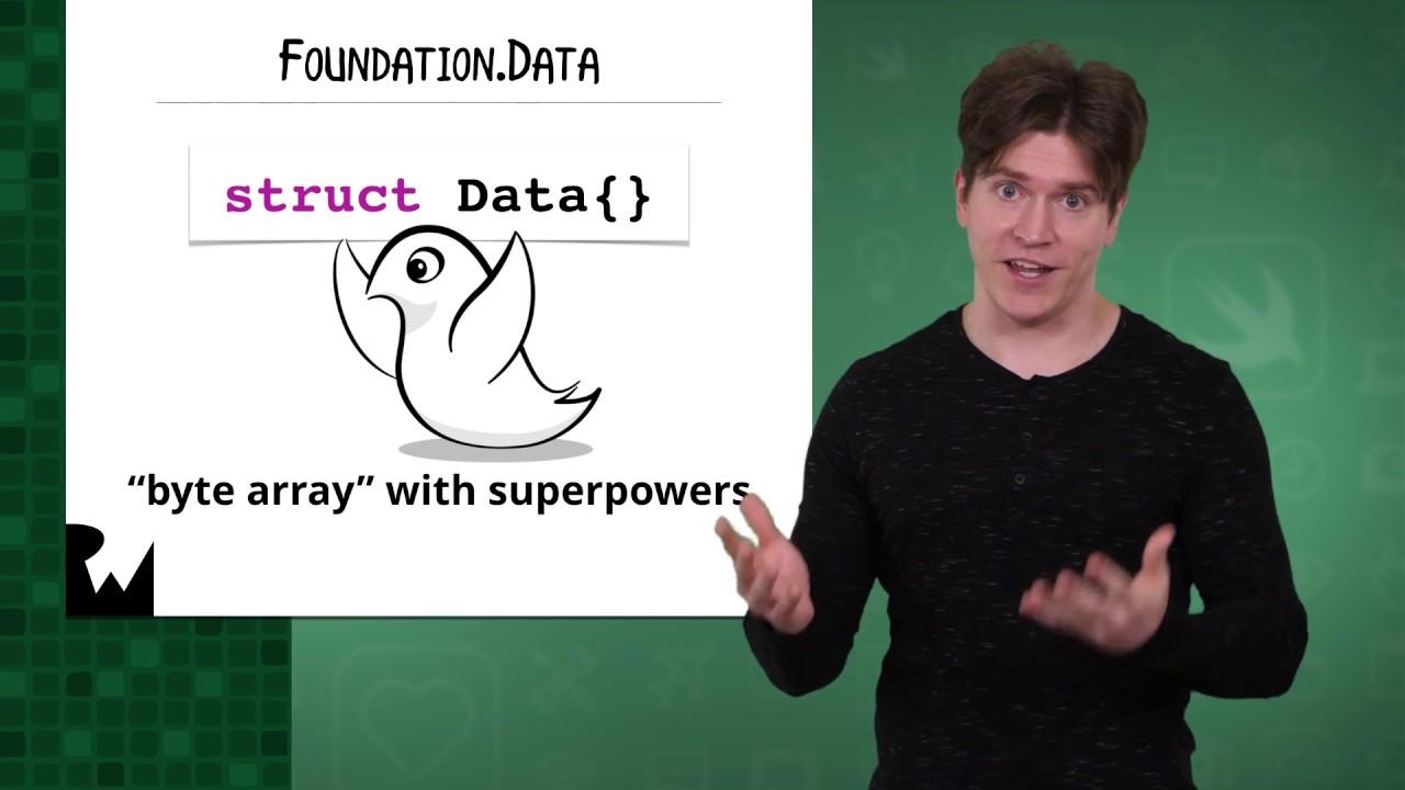 Saving Binary Data with Swift 4 2 and Xcode 10 - raywenderlich com