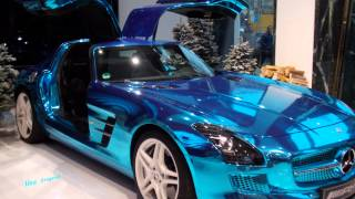 The  Mercedes SLS AMG Electric Drive