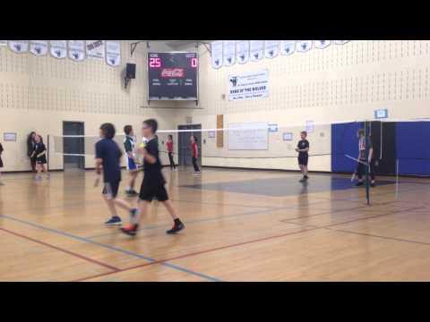 Dustin and Reegan Tigers Badminton Mixed Doubles