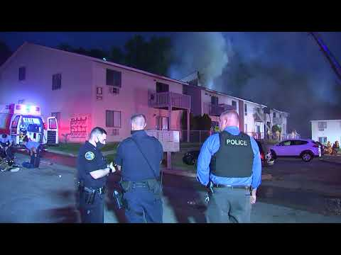 10 Families Displaced After Condo Fire Breaks Out In Area
