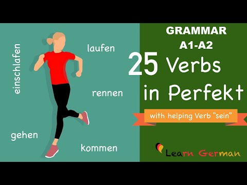 Learn German | German for daily use | 25 Verbs and their Perfect | A1 | A2