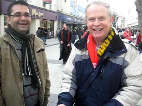 Mr Philip is speaking Sindhi in Cardiff - U.K