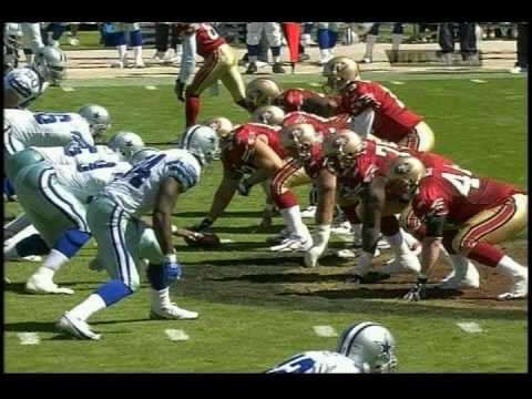 Demarcus Ware First Career Sack @SF 9-25-05